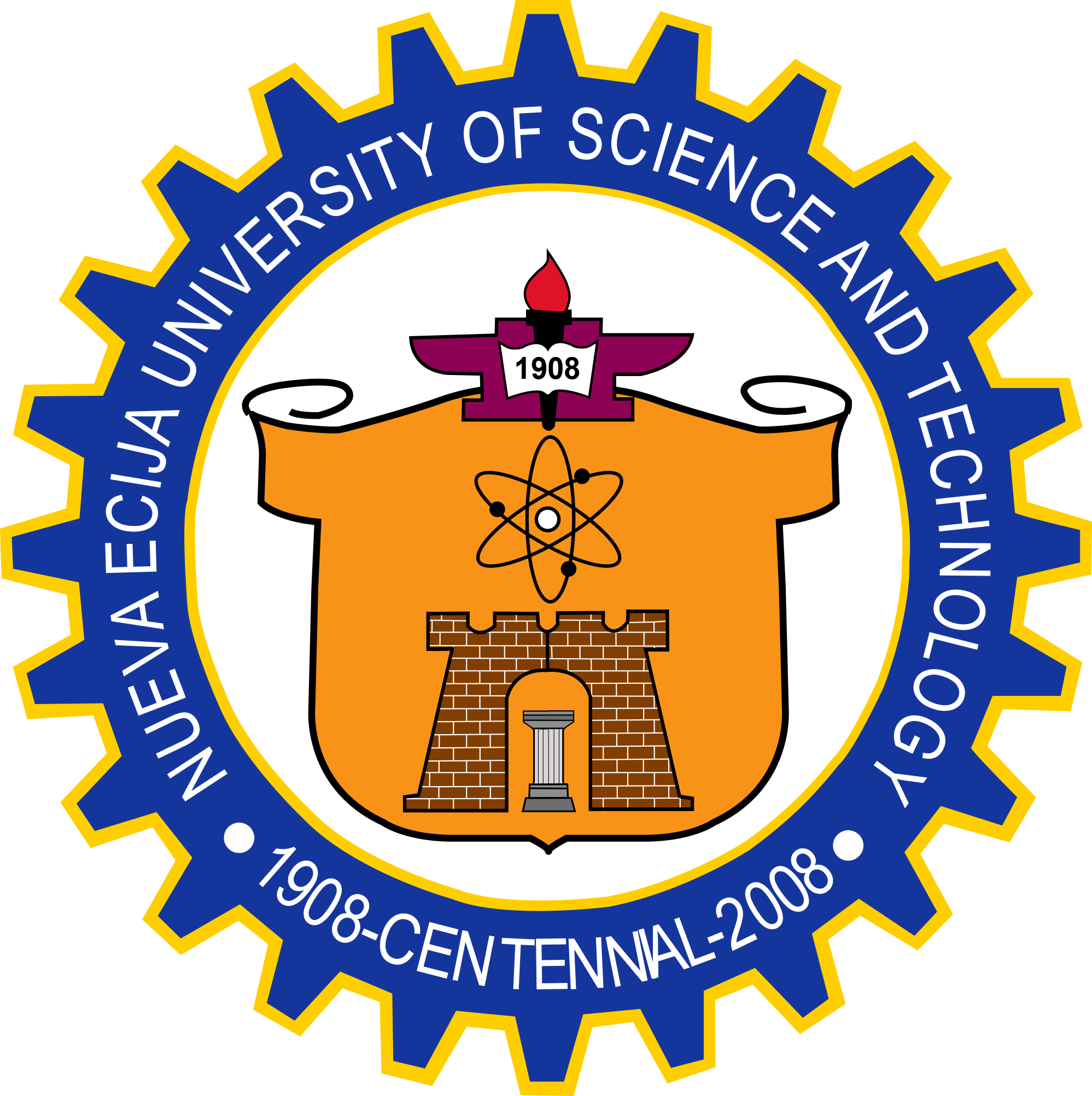 NUEVA ECIJA UNIVERSITY OF SCIENCE AND TECHNOLOGY Official Logo